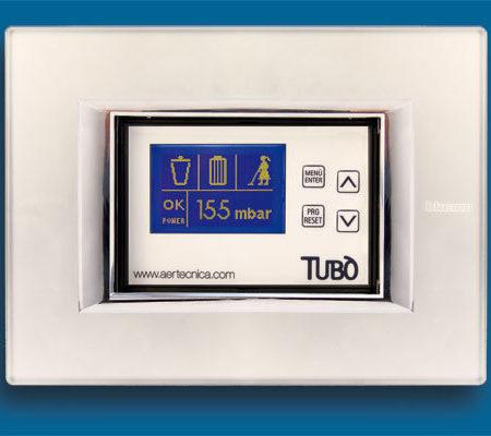 Dynamic control display controle aspiração Central